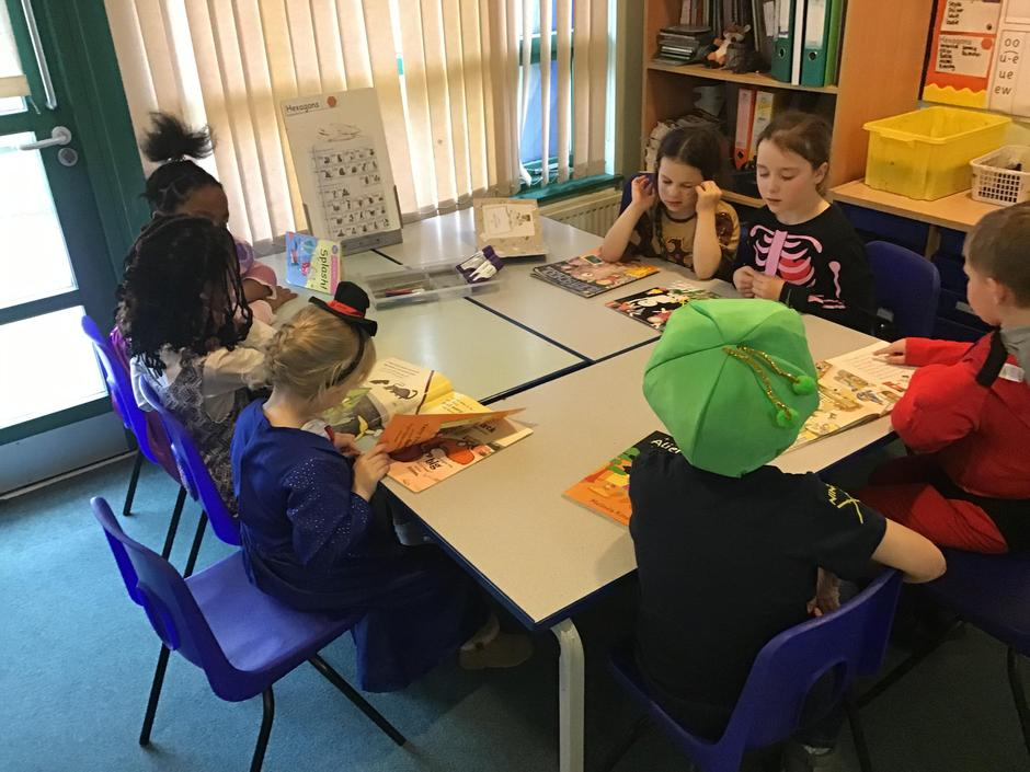 We had great fun for World Book Day!