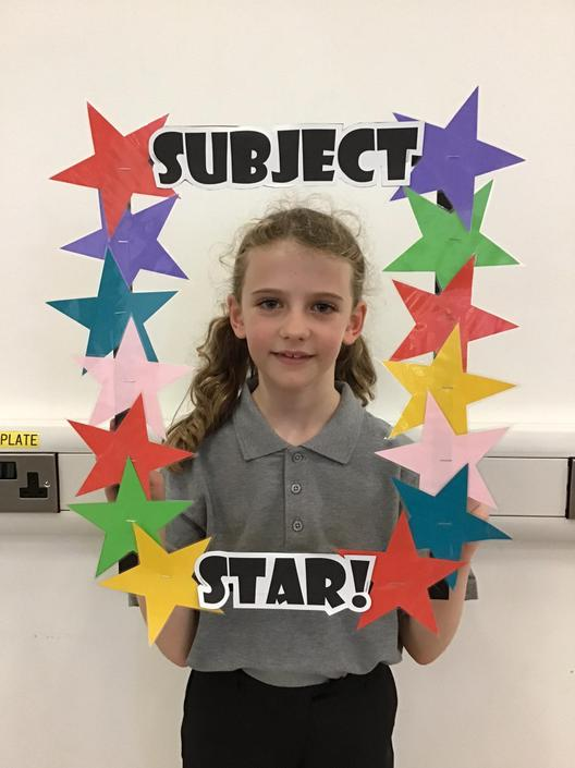 27.09.19 Abbie for fantastic science work.
