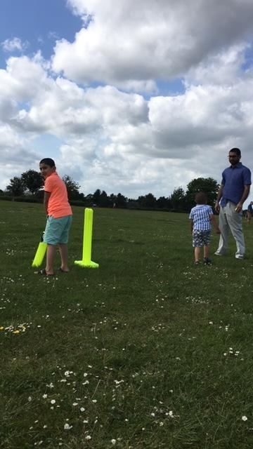 Celebrating Eid with a game of family cricket