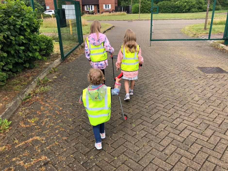 Ruby and Amber have been litter picking