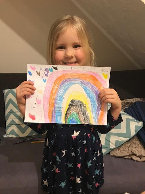Maja's rainbow