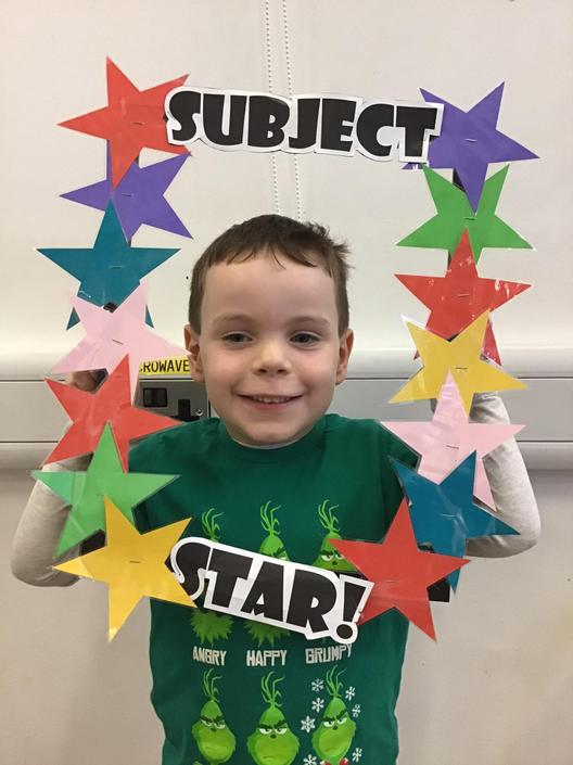Rhys is this week's Subject Star in Maths!