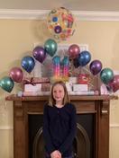 Holly celebrating her 11th Birthday