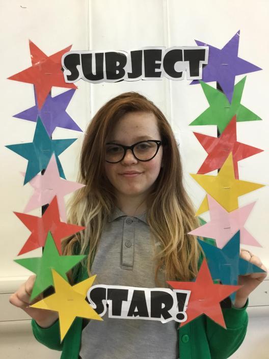Art/DT Subject star!