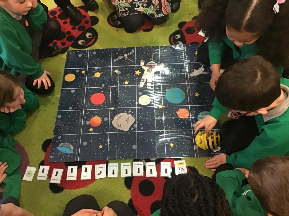 We have loved programming the beebots!