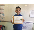 14.02.20 SAM'S FABULOUS WEEKLY READING AWARD