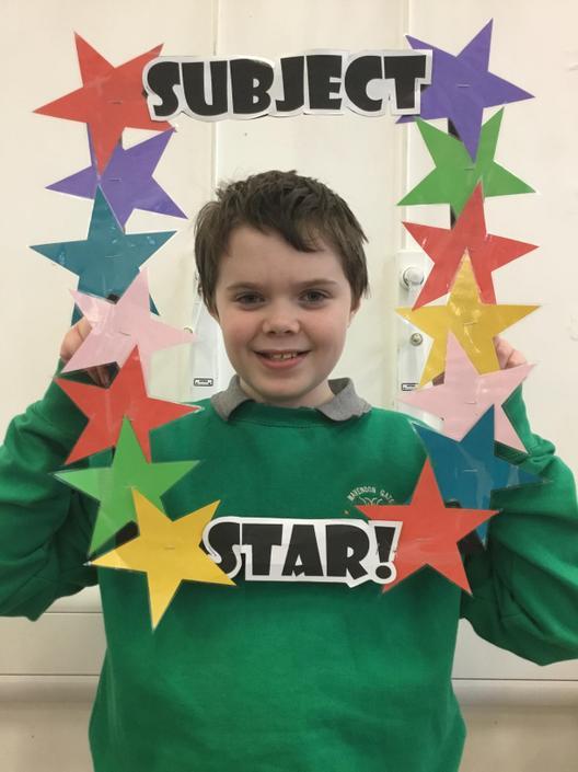 Homework subject star!