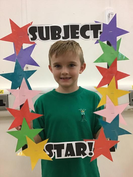 Jarriden is our Reading Subject Star!