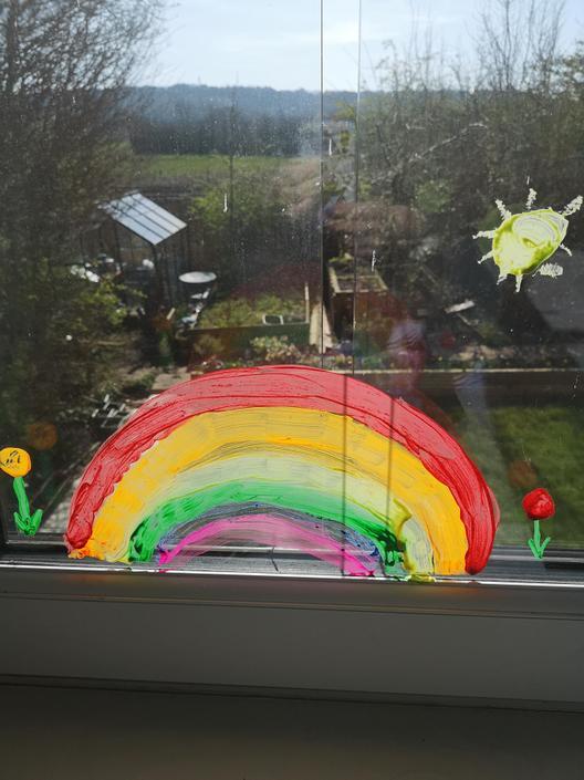 Kitty's rainbow