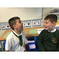 We looked at each others teeth from a good social distance.