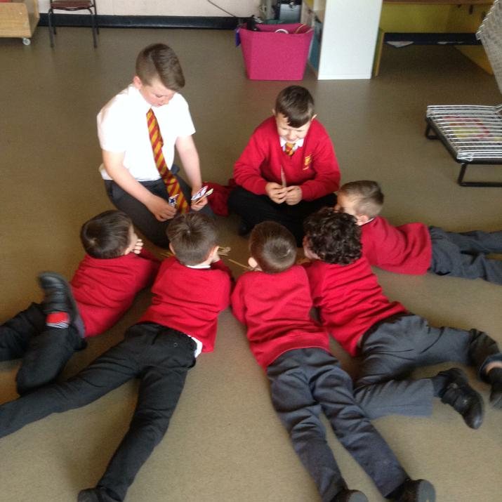 Sharing a story with Y5/6