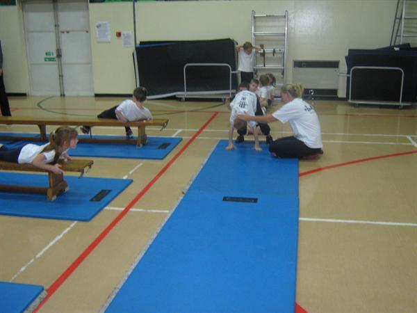Gymnastics with Kim!