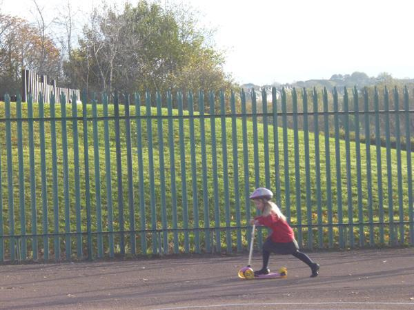 Let's go scooting!