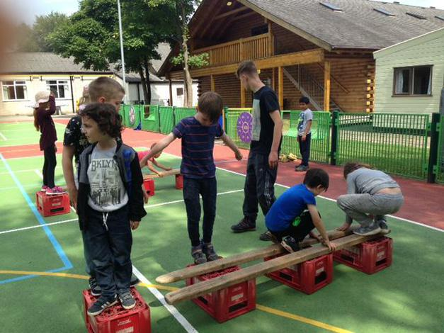 Problem solving and team building.