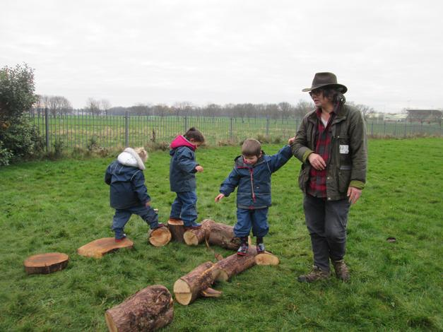 Duane, our Forest School Leader