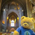 Bradley enjoyed his trip to the Anglican Cathedral