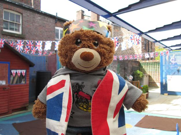 Bradley at our Royal Garden Party.