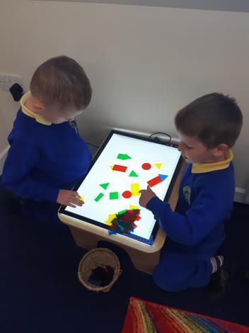 looking at 2D shapes