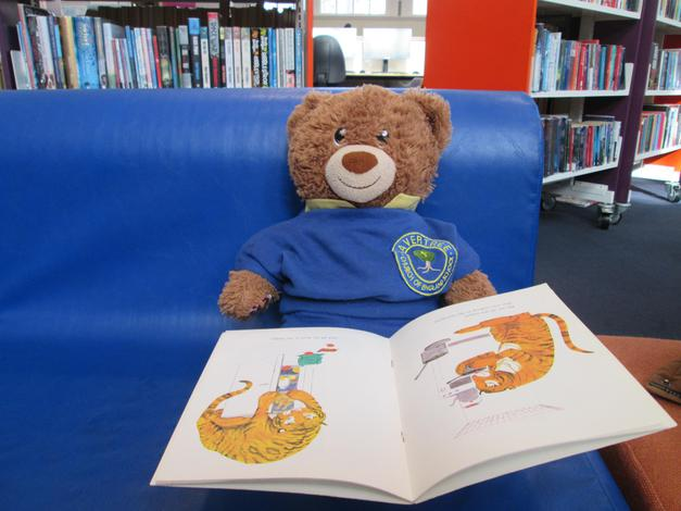 Bradley visiting Picton Library for World Book Day