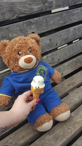 Bradley loves ice cream!