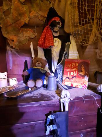 Bradley at Treasure Island Story Barn