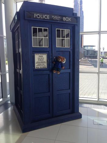 Time to fly with the Doctor.