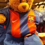 Bradley enjoyed trying on the Barcelona strip