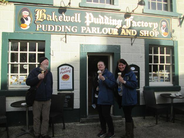 Famous Bakewell Pudding Shop!