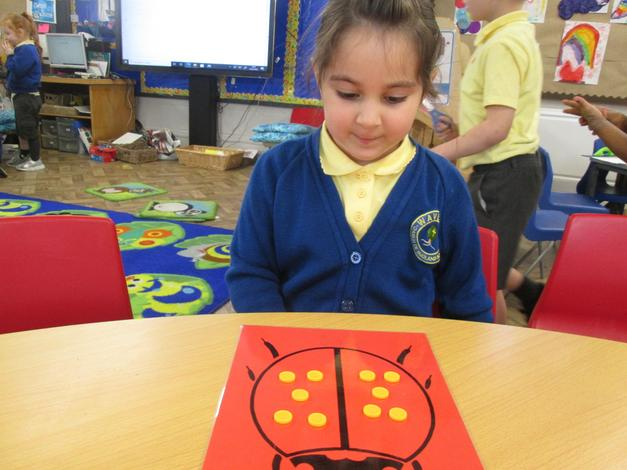 Exploring doubling and halving using ladybirds.
