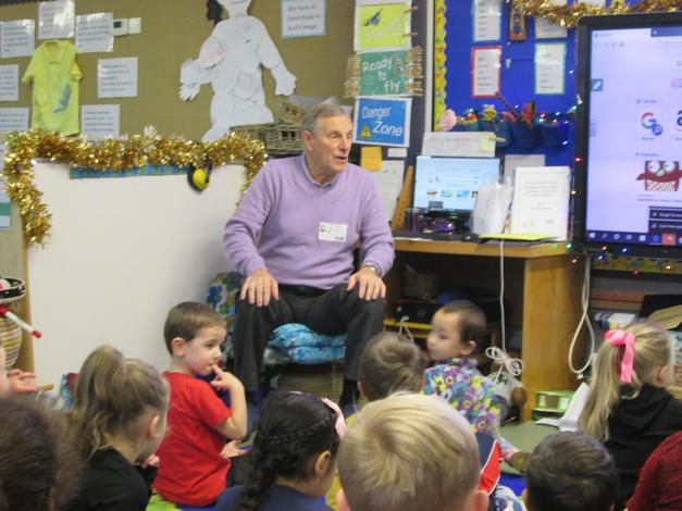 Mr Rigby told us how church prepares for Christmas