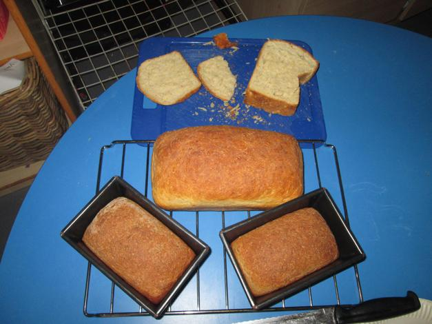 We made lovely bread for Harvest