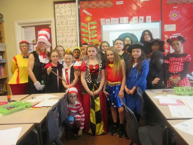 Class 5 book characters!