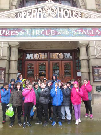 Buxton Opera House-the start of our trail!