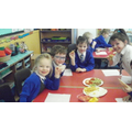 We loved the tortillas and crisps.