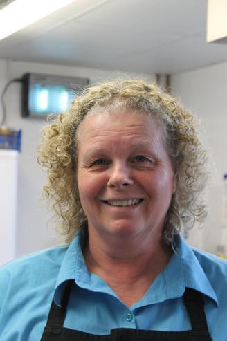 Lynne Fisher, Kitchen Supervisor