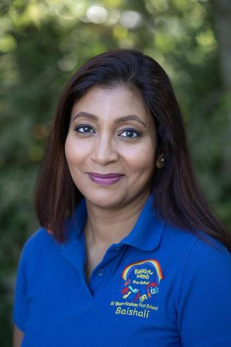Baishali, Deputy Pre-School Manager