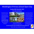 Weddington Open Day 2021
