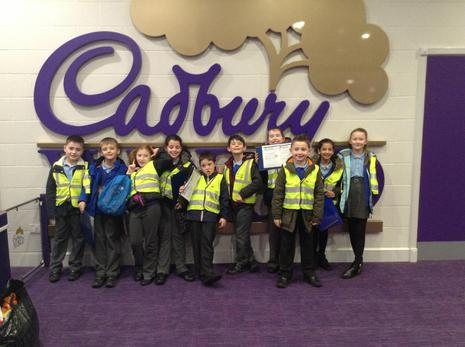 Cadbury World, Birmingham - Year 4 - Theme of 'CHOCOLATE' - Cross curricular link to : English, Art/DT, History & Computing - February 2016 1