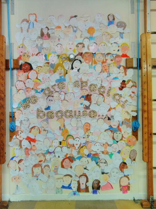 A Whole School of Self-Portraits!!!