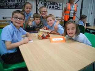 Enginuity, Ironbridge -  Year 4 linked to Science and Design Technology - June 2015 11