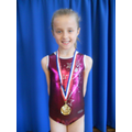 Megan, winner of Year 3 Vault