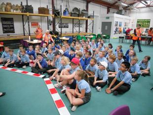 Enginuity, Ironbridge -  Year 4 linked to Science and Design Technology - June 2015 2