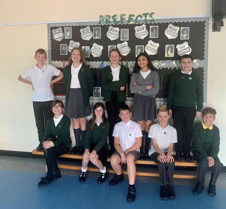 Congratulations to our prefects