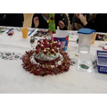 Lime class won the best table decoration