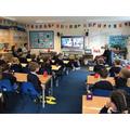 Online school visit