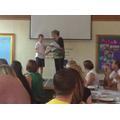 Presentation of Kilve certificates
