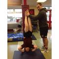 John's headstand