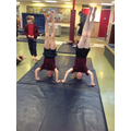 Double headstand