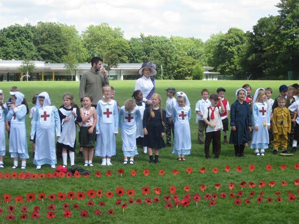 Whole School WW1 Commemoration Day