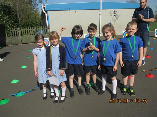 Our team won the interschool archery competition!